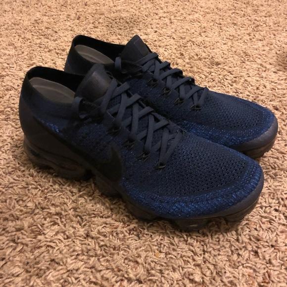 hot sale online 4a7a1 1ec12 Nike Vapormax Flyknit 2 Men's College Navy / Black